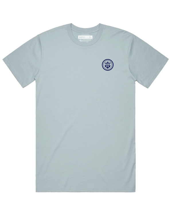 anchor t-shirt blue