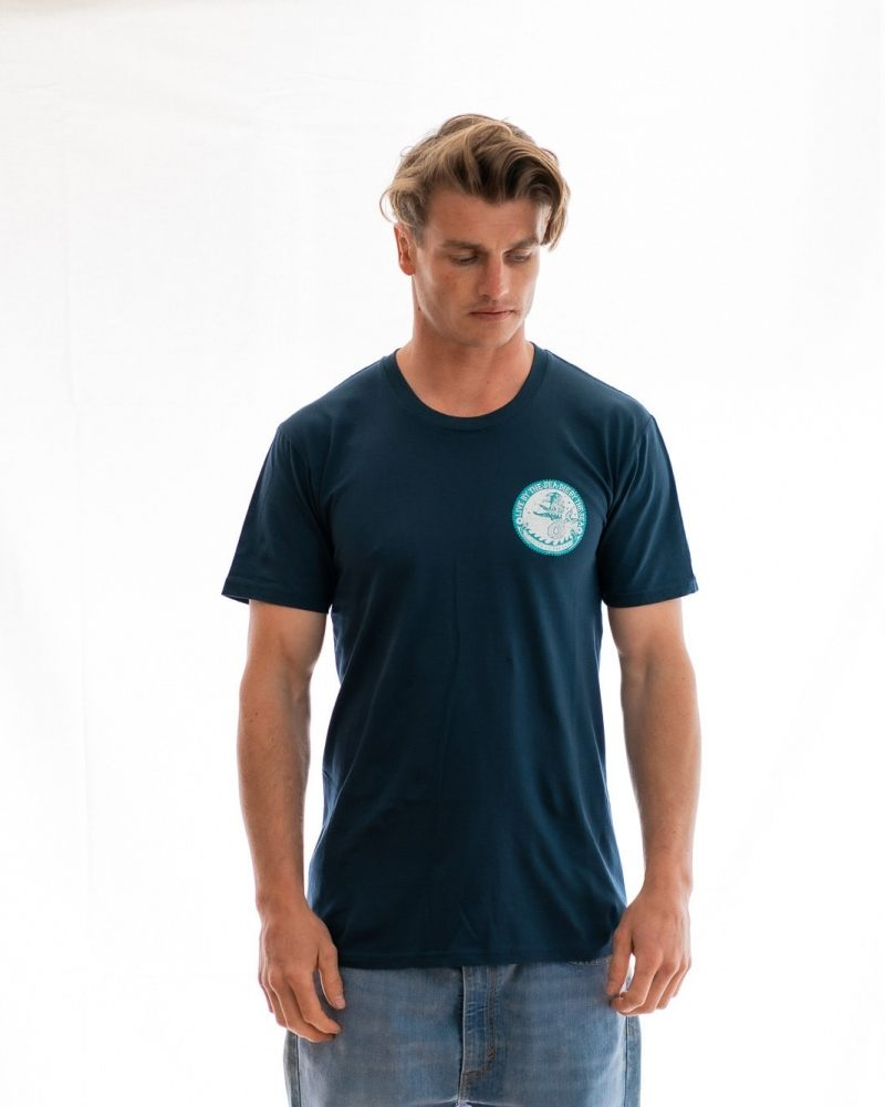 Sealion t-shirt mens indigo