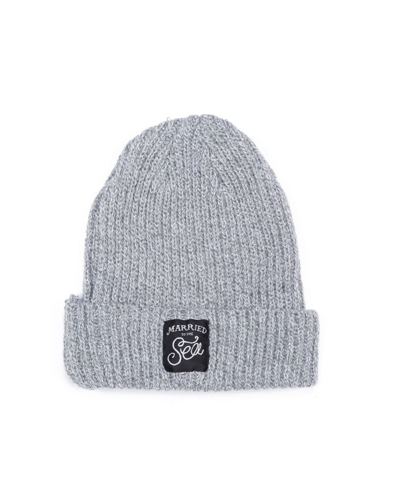 Light grey trawler beanie