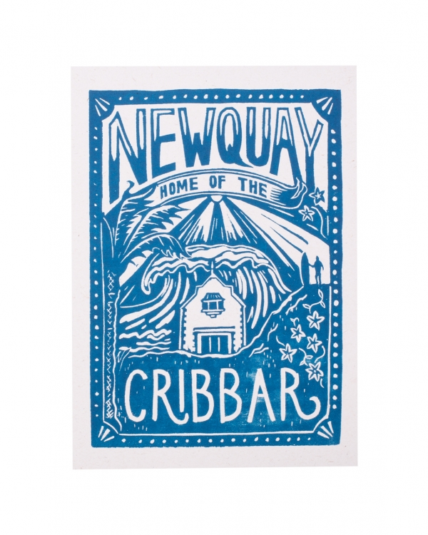 Newquay home to the Cribbar Blue