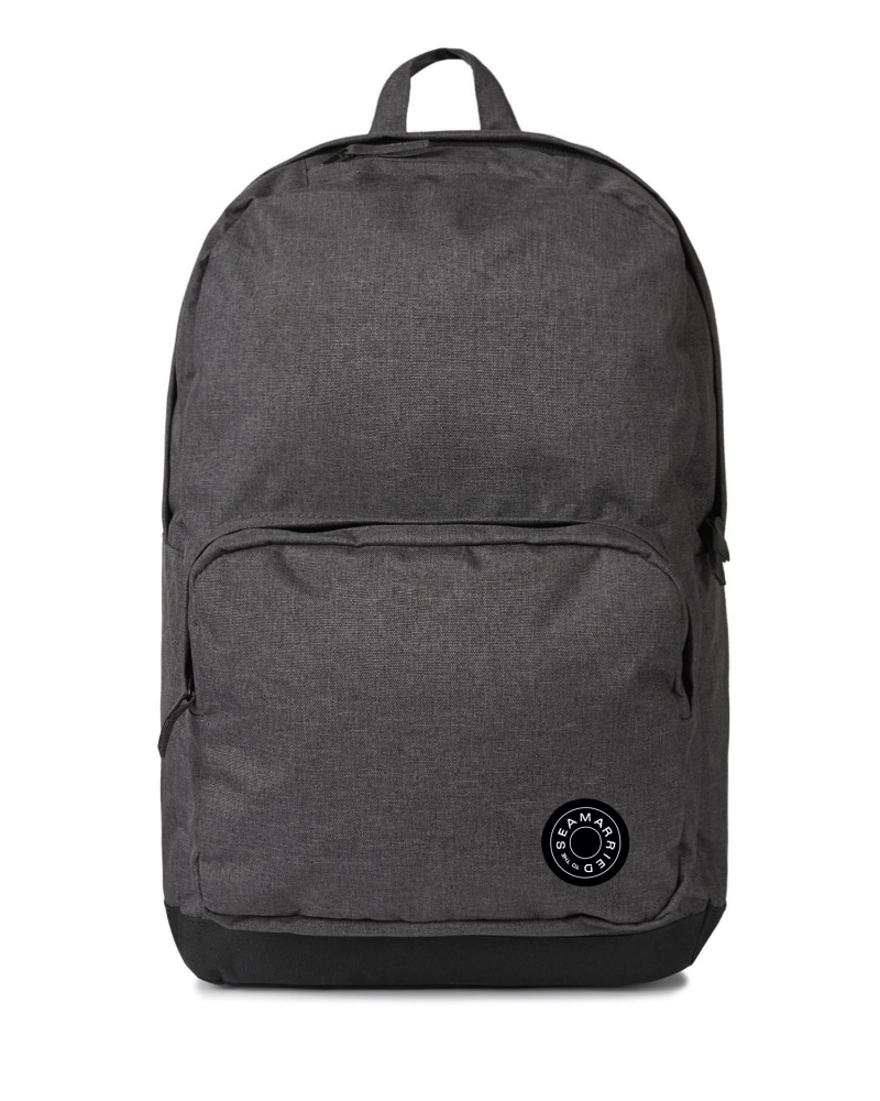 Contrast backpack black