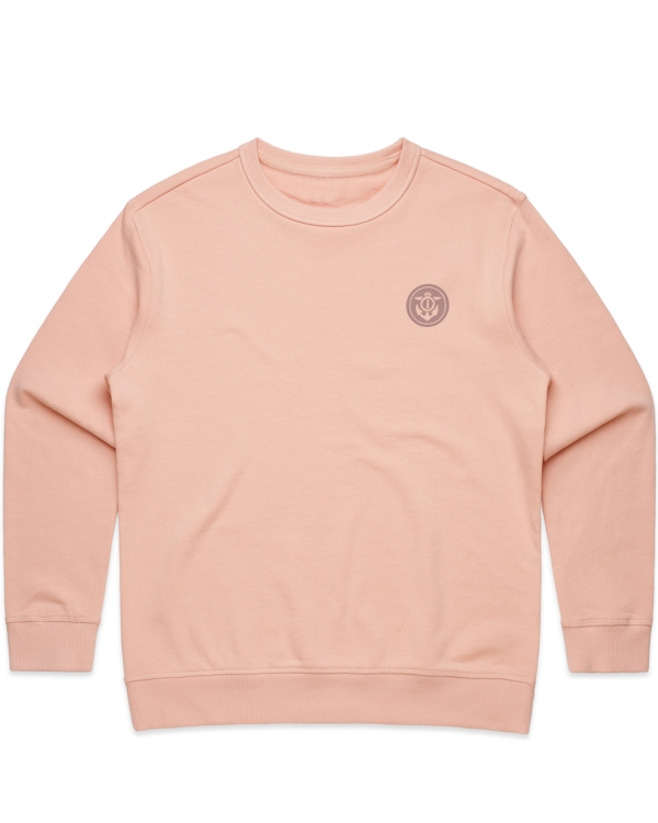 Keg Womens Pale Pink Crew