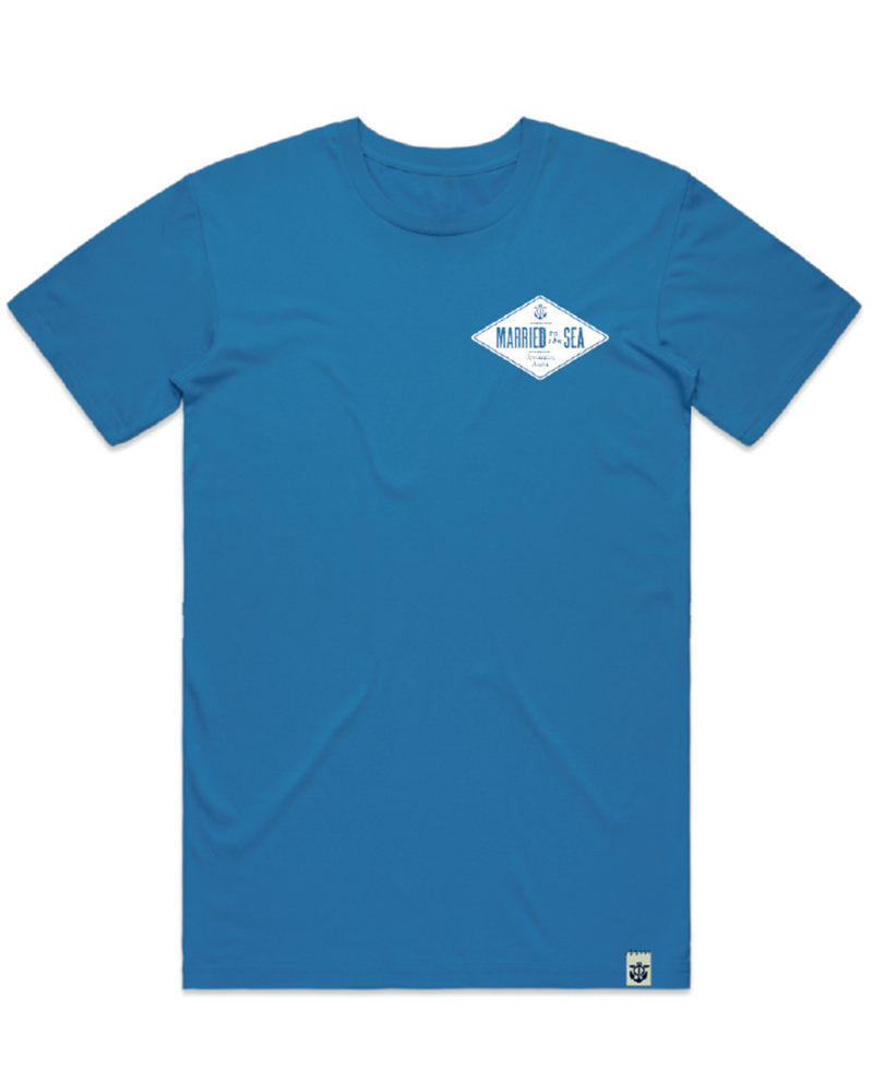 Diamond-Men's-T-Shirt-Blue