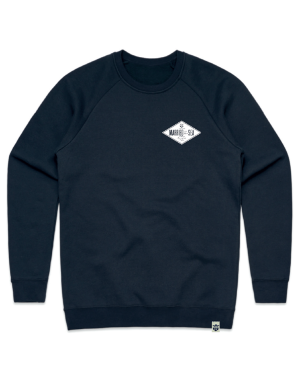 Diamond-mens-crew-navy