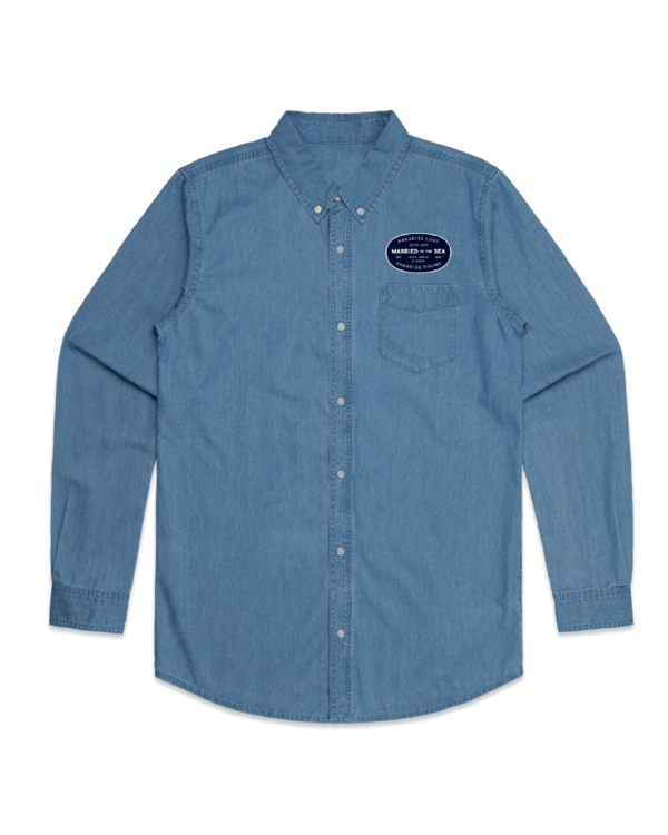 Garage-Men's-Shirt-Denim