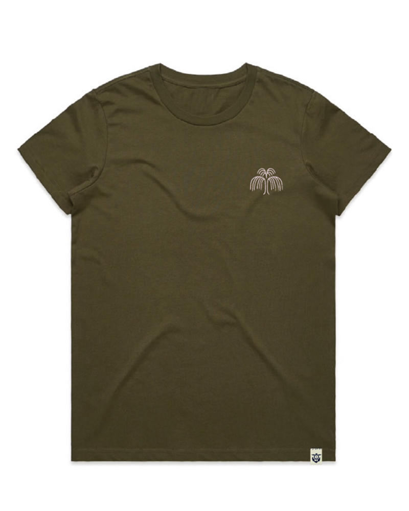 Melt-women's-t-shirt-army