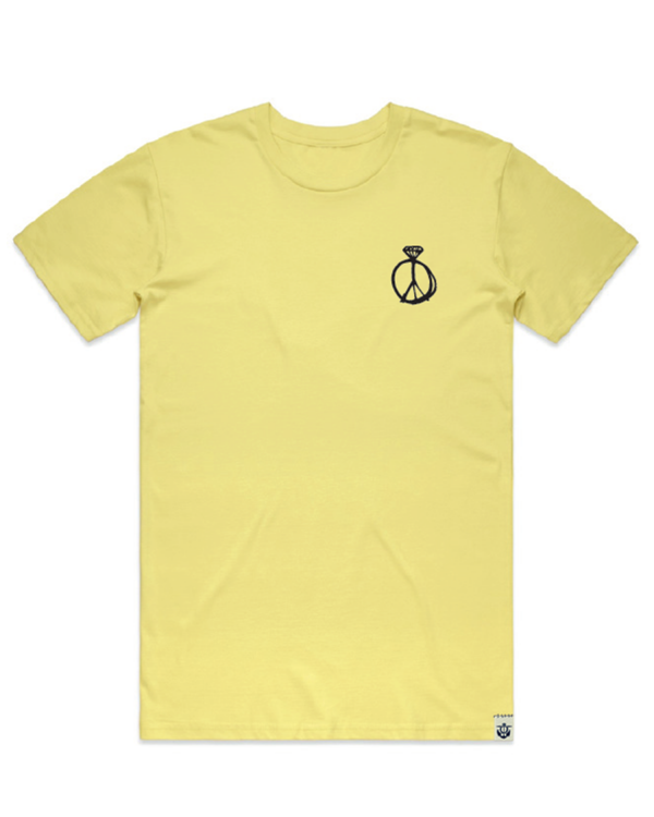Peace-Out-Men's-T-shirt-Lemon-f