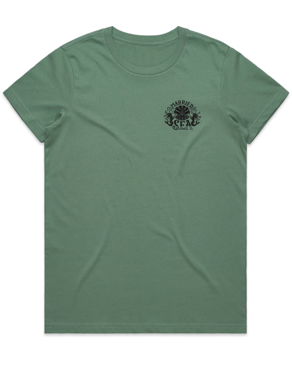 Merms T-shirt sage